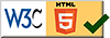 this site has passed the w3c html5 markup validation service